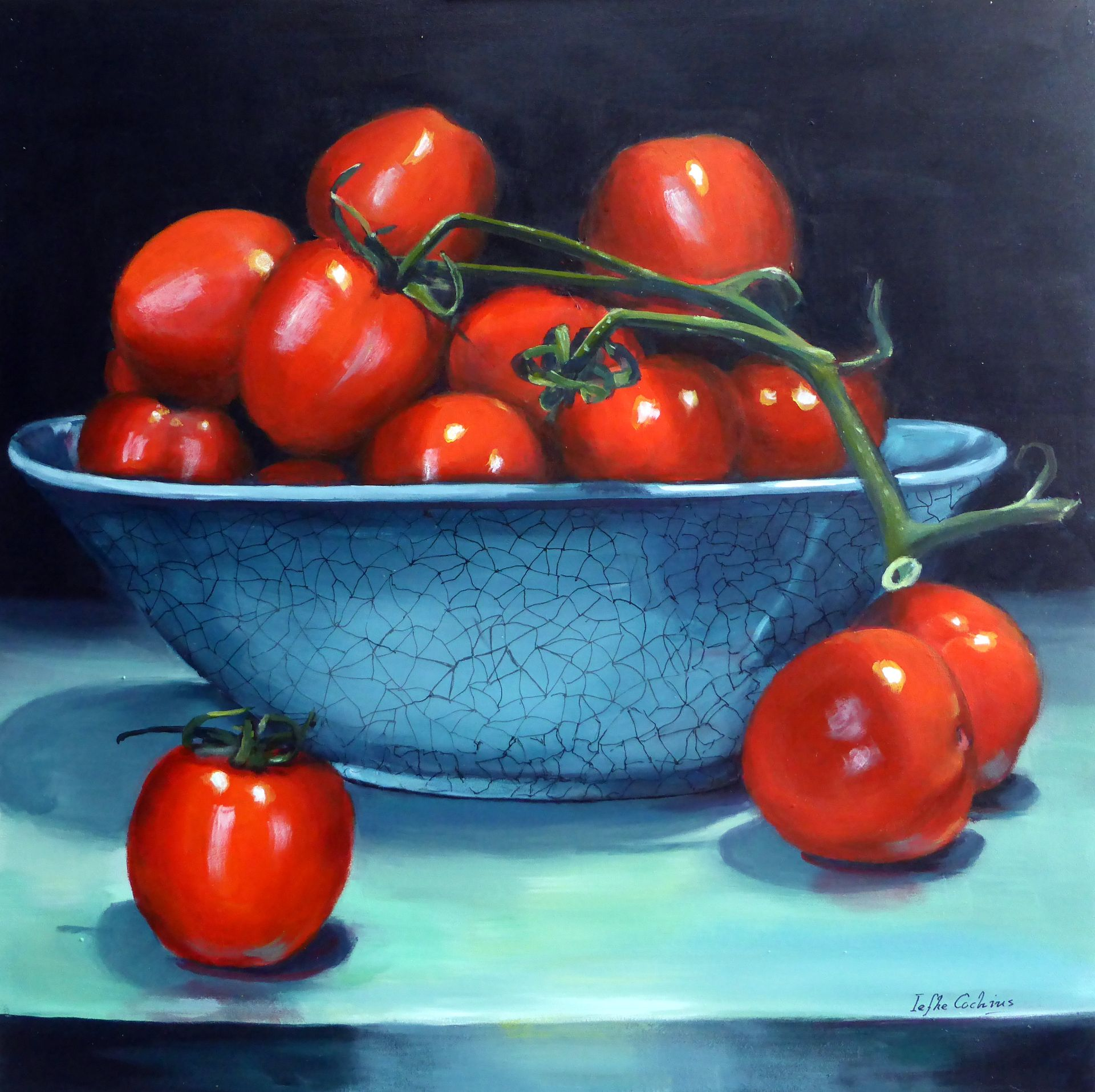Bakje tomaten
