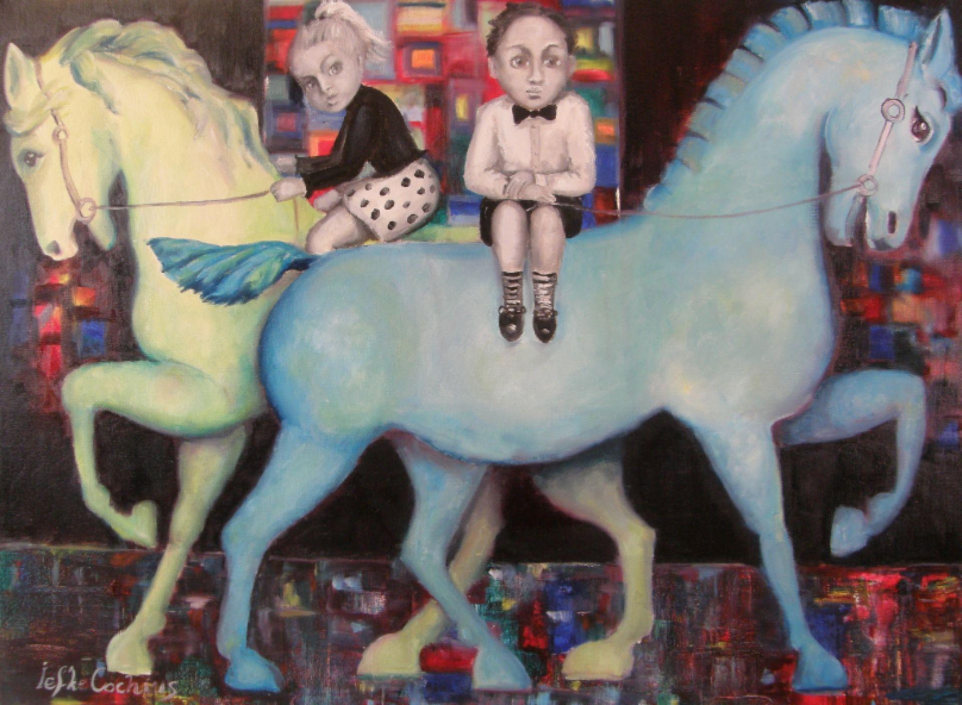Twee paardjes
